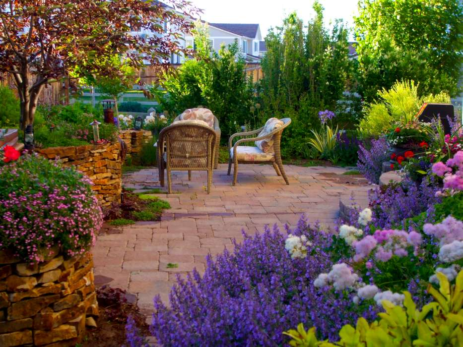 luxescapes  landscape design and installation contractor, Natural flower